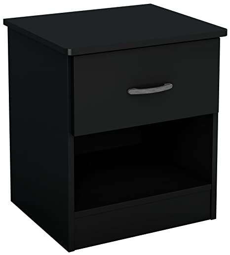 Amazon.com: Mesita de noche South Shore con 1 cajón ...