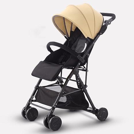 &Carrito de bebé Carrito de bebé ultra-ligero puede sentarse ...