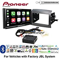 Volunteer Audio Pioneer AVH-W4400NEX Double Din Radio Install Kit with Wireless Apple CarPlay, Android Auto, Bluetooth Fits 2004-2010 Toyota Sienna with Amplified System