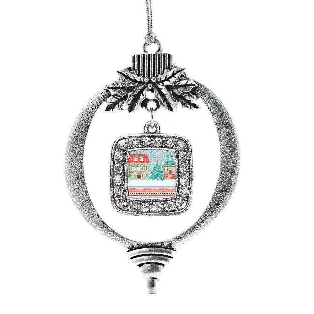 Inspired Silver Winter Wonderland Christmas Tree Ornament