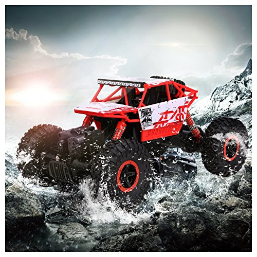 Arshiner RC Rock Crawler Monster Truck 1:18 Scale with