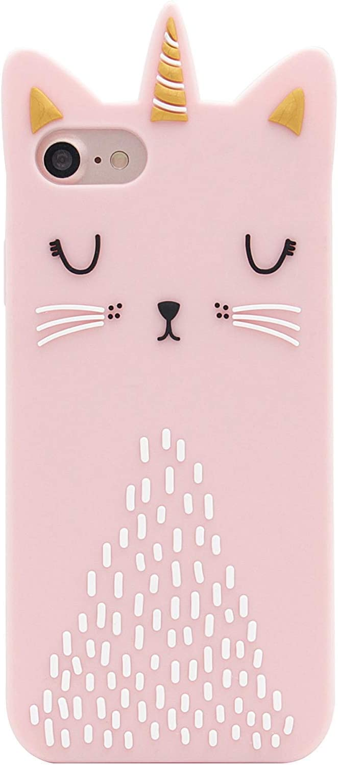 Artbling Cat Unicorn Case for iPhone 6/6S/7/8 4.7