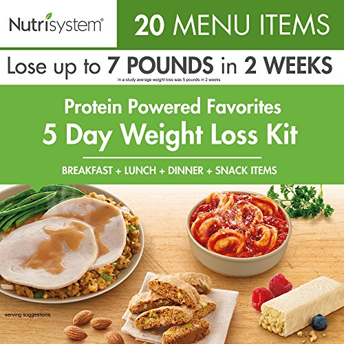 Nutrisystem® Protein-Powered Favorites 5-Day Weight Loss kit (7 Meals A Day For Weight Loss)