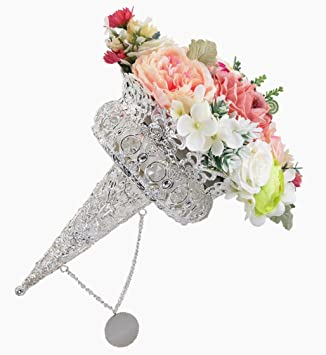 Wedding Bouquet Holder Bride Flowers Handle DIY Bridal Floral Foam