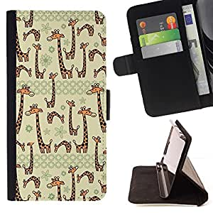 Momo Phone Case / Flip Funda de Cuero Case Cover - Beige Cartoon Dibujo Animal - Sony Xperia Z3 Compact