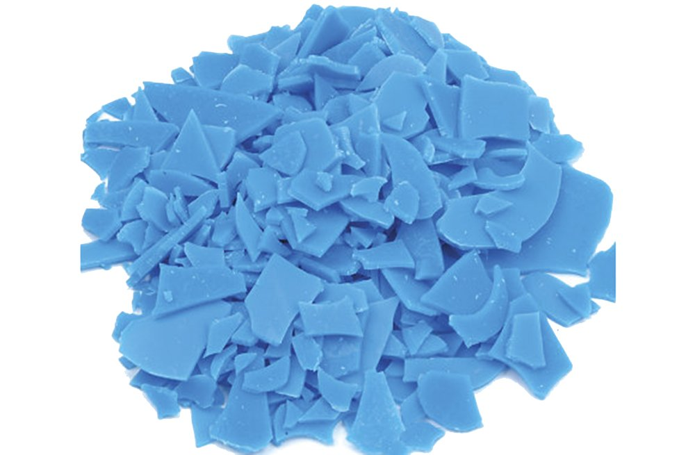 FREEMAN INJECTION WAX FLEXIBLE BLUE FLAKES WAX JEWELRY LOST WAX CASTING 1 Lb BAG (LZ 1.2 FRE) NOVELTOOLS