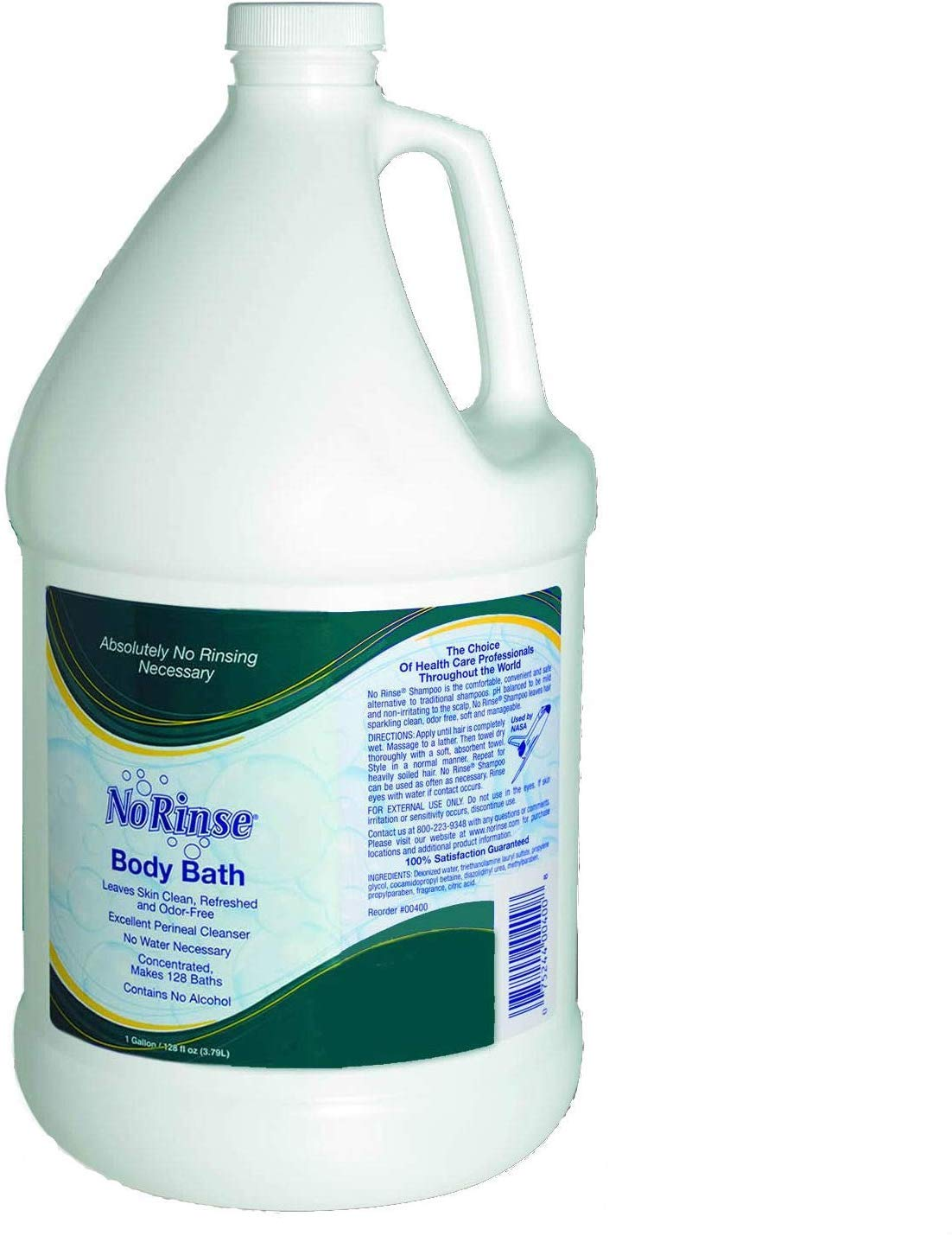 Clean Life Products LLC No Rinse Body Wash Gallon by CleanLife Products LLC