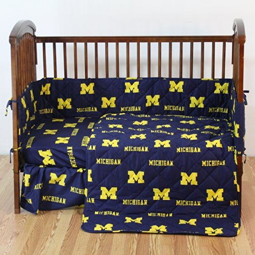 College Covers Michigan Wolverines 5 Piece Baby Crib Set [並行輸入品]   B01BBOSHSK