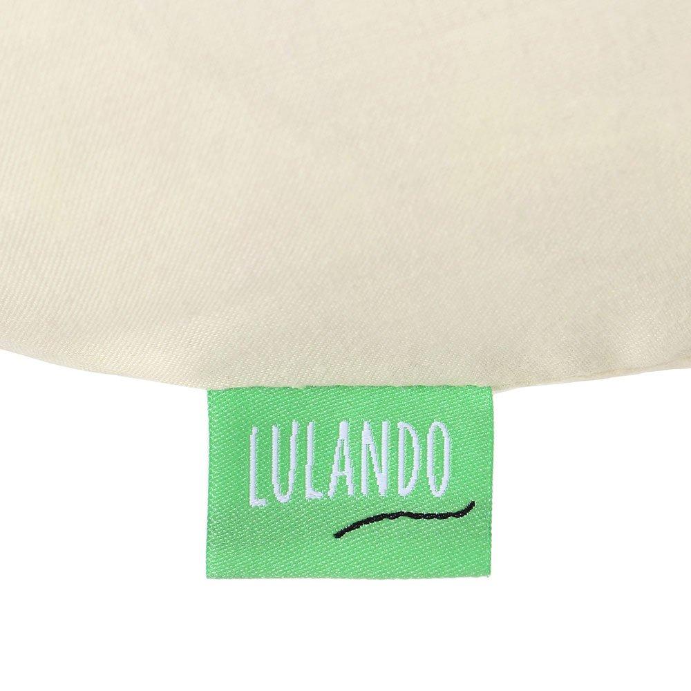 LULANDO Almohada Para Las Mujeres Embarazadas Para Lactaci/ón Para Dormir Descansar Jugar Farbe:Ecru
