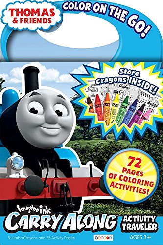 Buy Thomas And Friends Color On The Go Carry Along Coloring