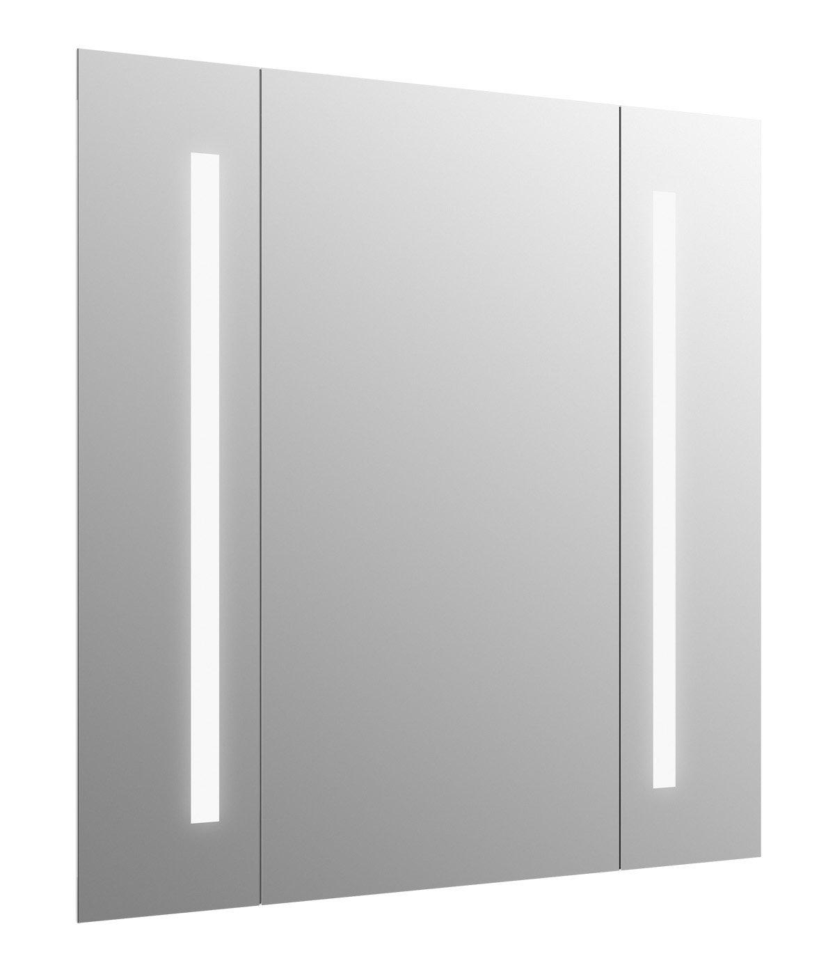 KOHLER 99572-TL-NA Verdera Lighted Mirror, Aluminum, 34''x33'' by Kohler