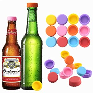 Beer Saver Silicone Rubber Bottle Caps