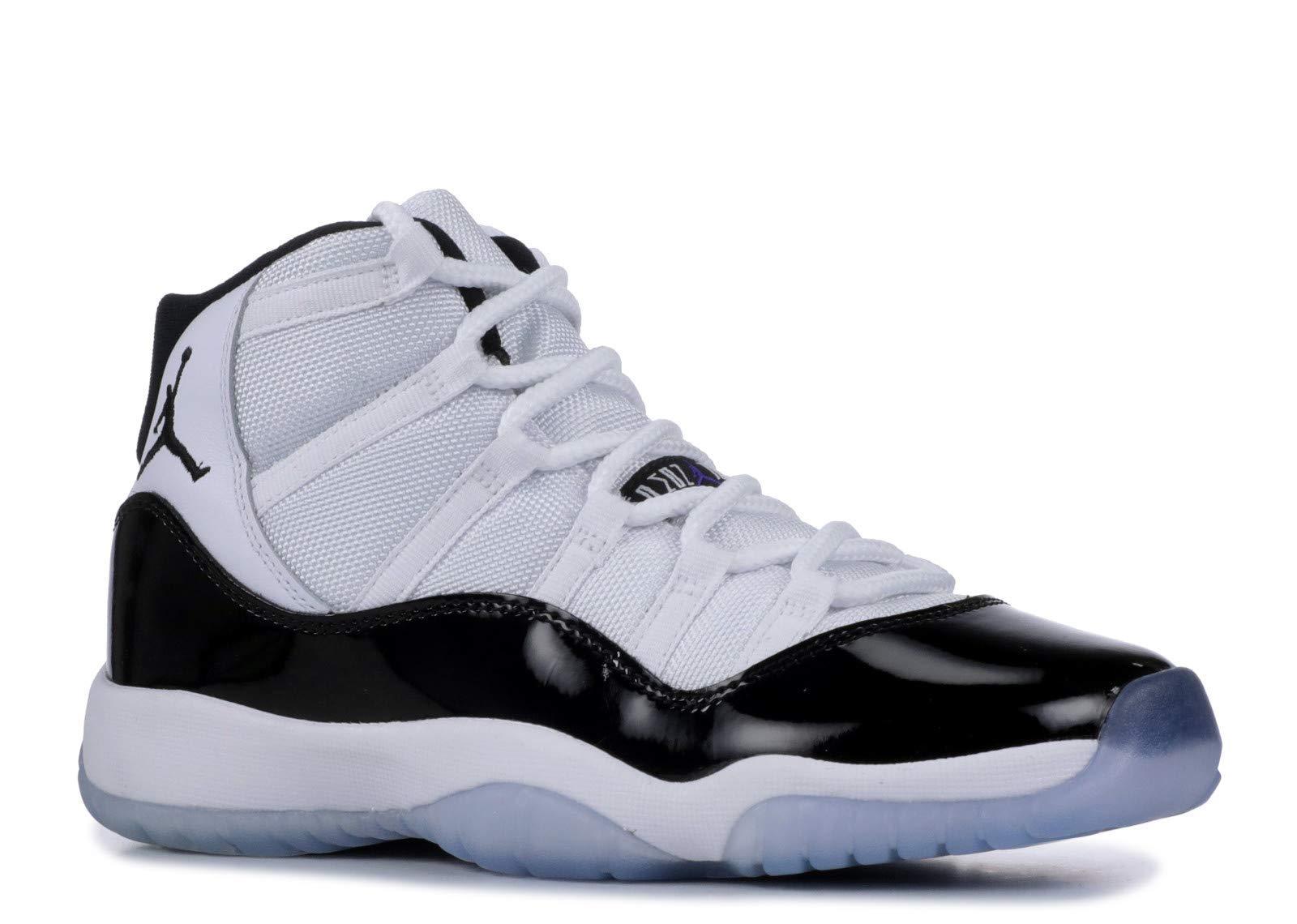Nike Big Kids Jordan Retro 11 ''Concord'' Basketball Shoe (6.5)