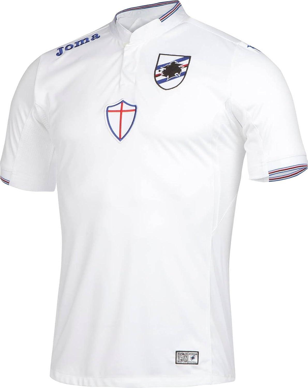 Joma 2ª Equipación U. C Sampdoria 2015/2016 Camiseta Oficial ...