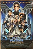 BLACK PANTHER MOVIE POSTER 2 Sided ORIGINAL INTL FINAL 27x40 CHADWICK BOSEMAN
