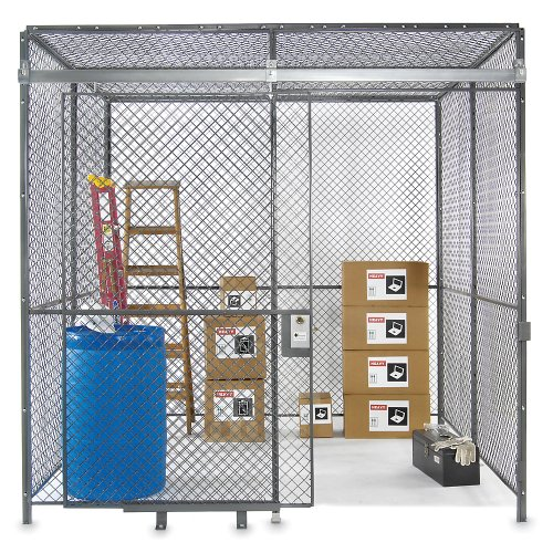 Husky Complete Bolted Wire Enclosure - 2 Sides - With Ceiling - 20