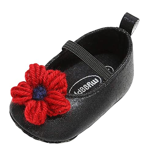 dd3e109a761365 Baby Girl Leather Flower Shoes Keep Warm Fashion Toddler First Walkers Kid  Shoe (0~
