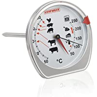 Leifheit 03096 Meat and Oven Thermometer, Silver
