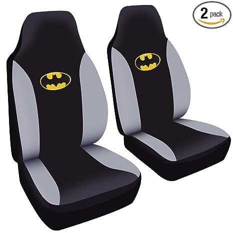 A Set Of 2 Universal Fit Batman Seat Covers