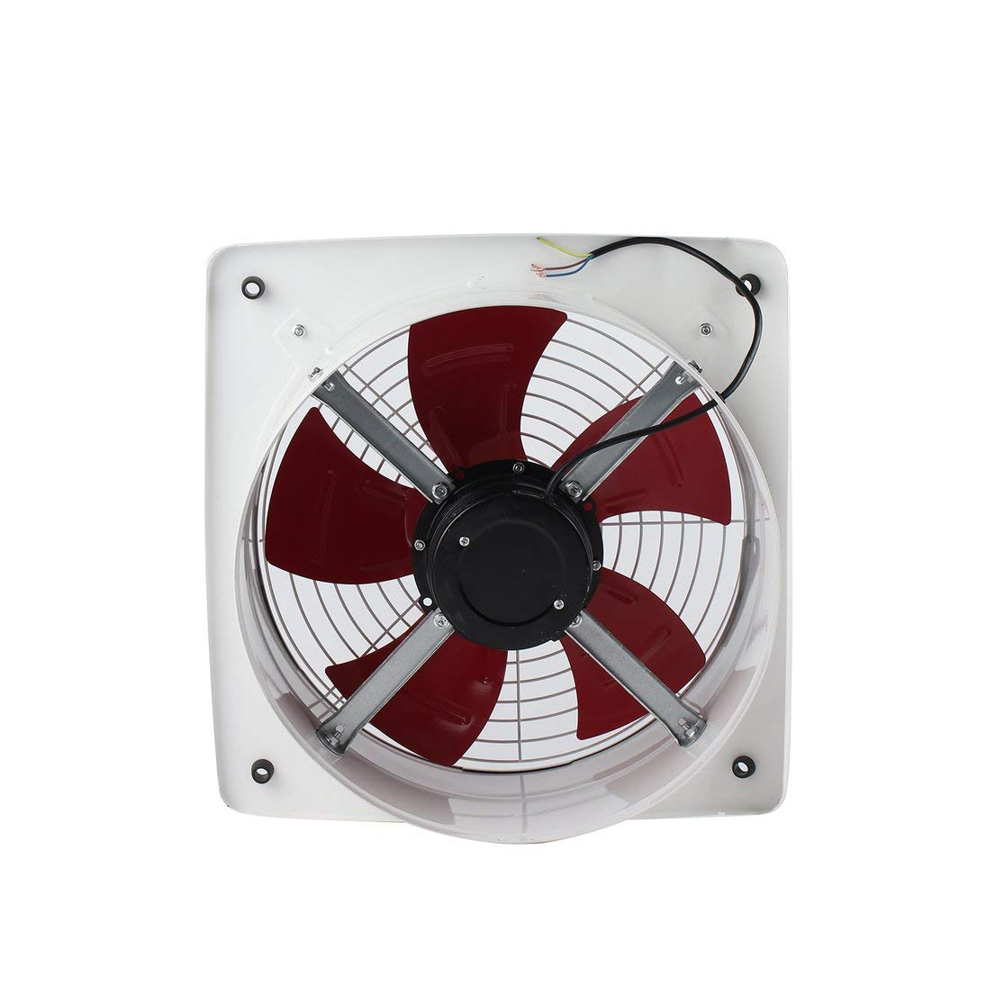 Baynne Blower Fan,Industrial Ventilation Extractor Metal Axial Exhaust Commercial Air Blower Fan Low Noise Stable Running