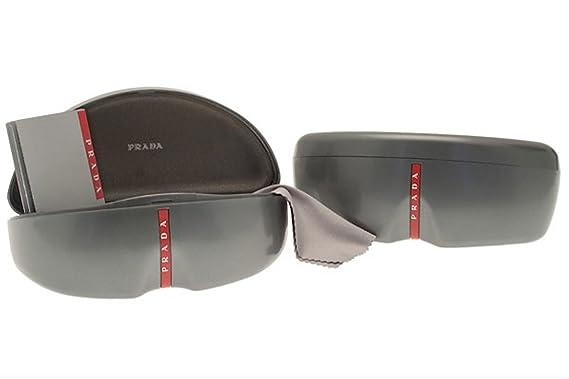 ff6b5a999b70 Amazon.com: Prada Sport Linea Rossa Hard Sunglass Case: Clothing