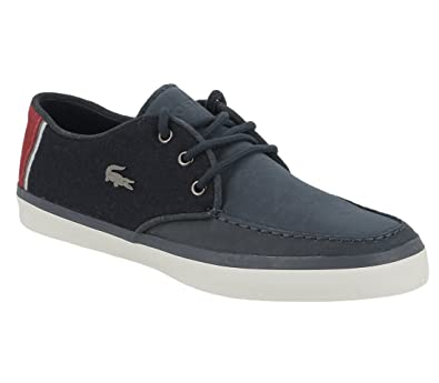 c9d25649f063 Lacoste Men s Sevrin 416 2 Cam Nvy Lth Cnv 7 32cam0098003 Trainers ...
