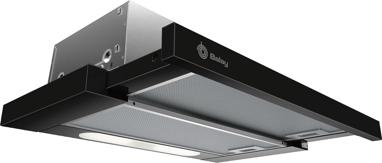 Balay 3BT263MN - Campana (360 m³/h, Canalizado/Recirculación, E, D, D, 68 dB)