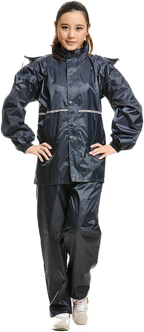 LL STUDIO Oxford Fabric Rain Suit Hooded Outdoor Raincoats