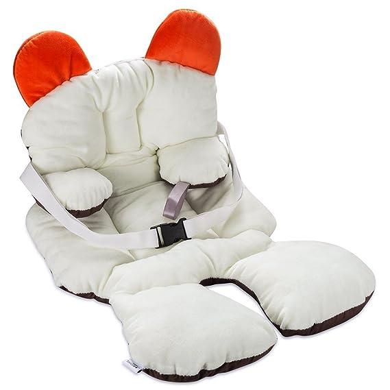 Freesoo Cojín reductor para sillas de bebé (0 - 12 meses) Suave Algodón Almohadilla Estera Cochecito Bebé Asiento de Coche silla de paseo: Amazon.es: Coche ...
