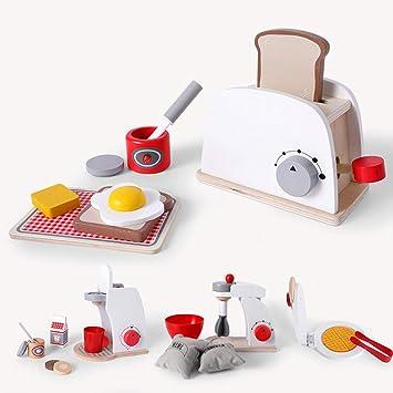 Juego de Juguetes de Cocina para casa de niños, simulación ...