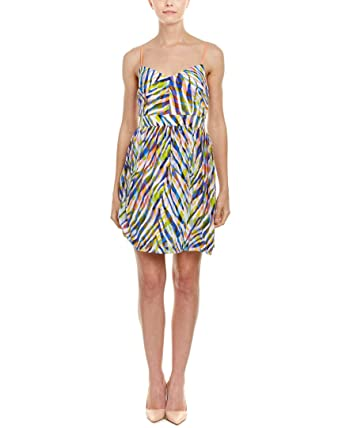 767958c4f082ec Amazon.com: Trina Turk Women's Gypsum Dress Multi Dress 4: Clothing