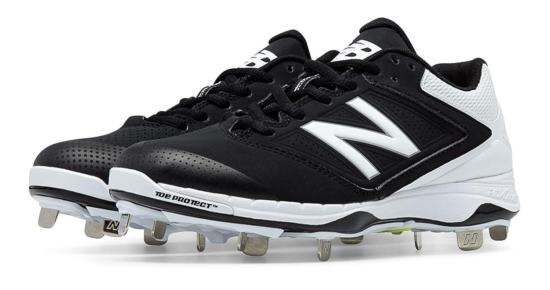 (ニューバランス) New Balance 靴シューズ レディースソフトボール Low Cut 4040v1 Metal Cleat Black with White ブラック ホワイト US 8 (25cm) B014I8TOAQ
