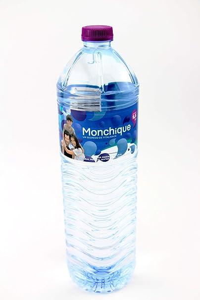 Agua Mineral Alcalina de Monchique Botella 1,5Litros (pack de 6 ...