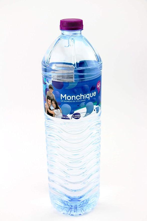 Agua Mineral Alcalina de Monchique Botella 1,5Litros (pack de 6 botellas de 1.5 litros)  Portugal: Amazon.es: Alimentación y bebidas