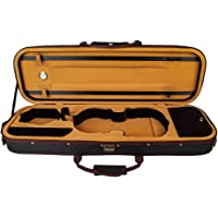 Irfora 4/4 Full Size Violin Case Storage Bag Box Oblong Shape with Hygrometer Adjustable Straps