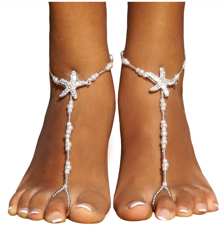 Amazon.com : yueton Pack of 10 Bride Crystal Rhinestone