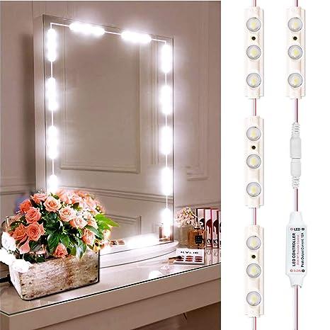 Led Mirror Lights Inkerscoop Vanity Light Strip Kit Diy Bathroom