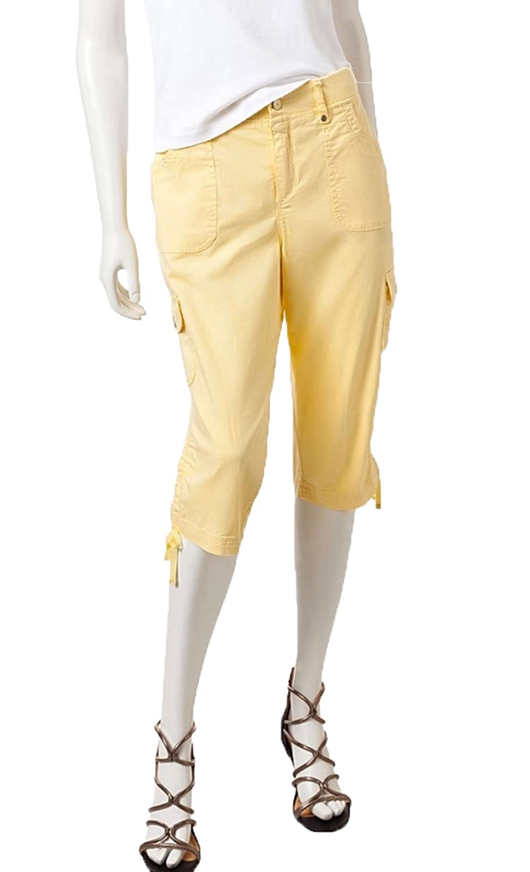 929152fc708 Gloria Vanderbilt Women s Lana Cargo Skimmer Pant (14
