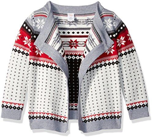 Gymboree Girls' Big Chevron Blanket Coat, S -