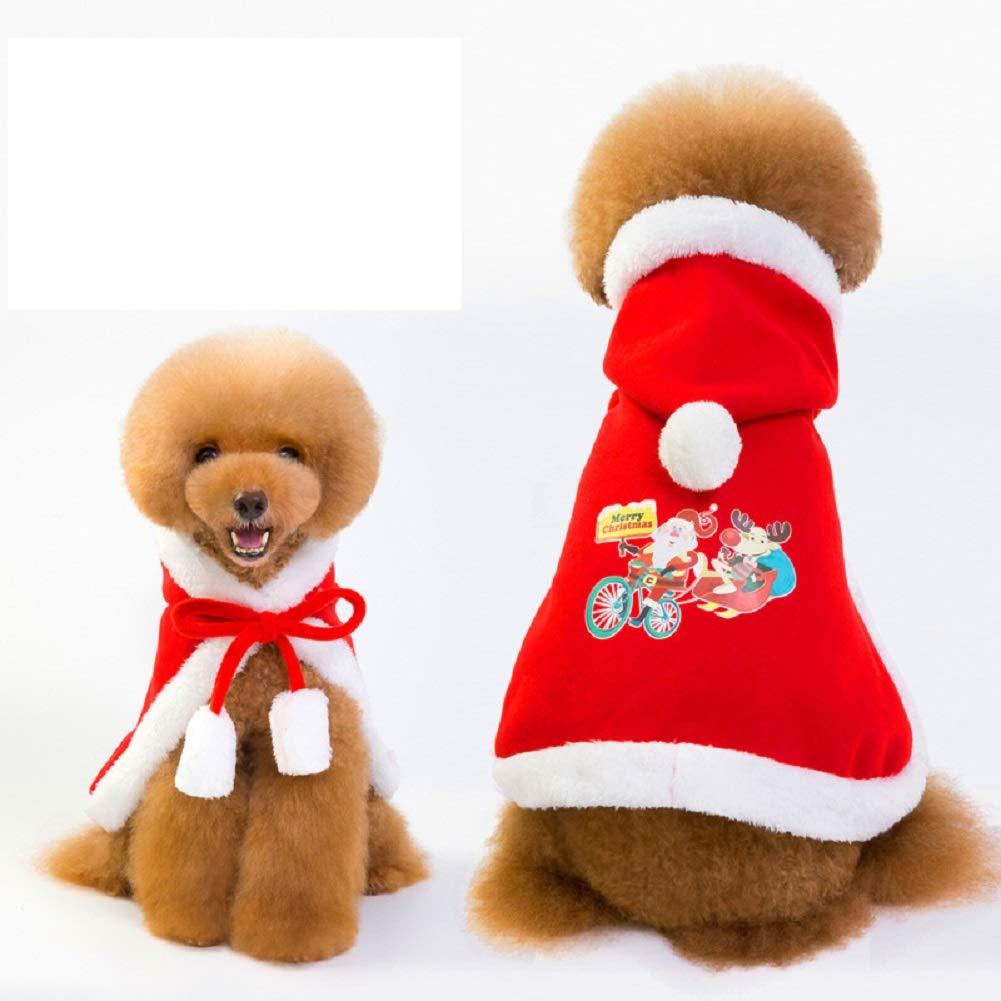 Red S Chest 12.99\ Red S Chest 12.99\ DENTRUN Dog Vest Coat Christmas Cloak Jacket Sweater,Pet Cats Jeans Cool Denim
