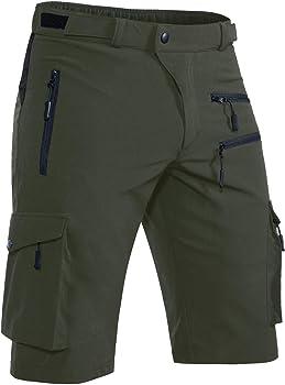Hiauspor Men's Mountain Bike Shorts
