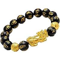 Unisex feng shui armband welvaart armband, handgesneden stenen armbanden trekken rijkdom geld aan Feng Shui sieraden…