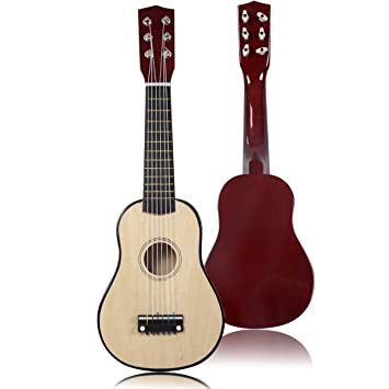 Amazon Com Kseven 21 Beginners Kids Acoustic Guitar 6 String With