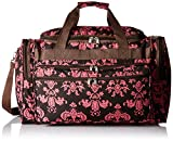 World Traveler Dots, Brown Pink Damask Ll