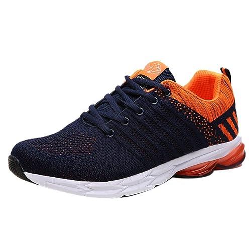 Logobeing Zapatillas de Running para Hombre Zapatillas de