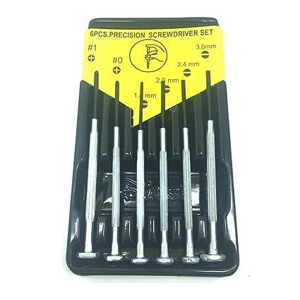 Precisión destornillador Phillips pequeño palabra mano herramientas de reparación set práctica 6pcs
