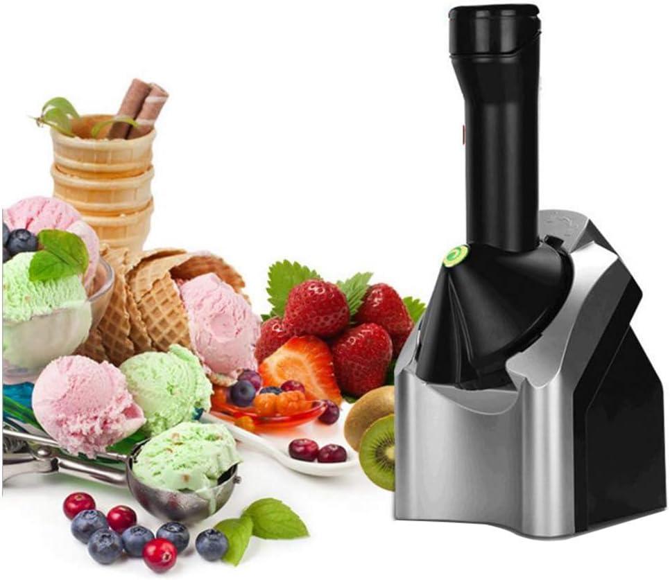 LUOER Fabricante de postres de Yogurt de Frutas congeladas, fabricador automático de Helados Saludable, para Hacer bocadillos de Frutas congeladas con sorbetes y Batidos: Amazon.es