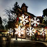 2018 Newest Christmas Lights, White Moving