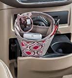 High Road DriverCup Car Cell Phone Holder and Cupholder Storage Organizer (Sahara)