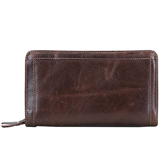 Classical Fashion Mens Original Retro Leather Clutch Wallet ...